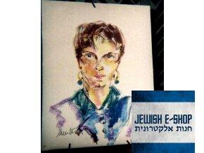 Portrét - olejomalba - 60 x 80