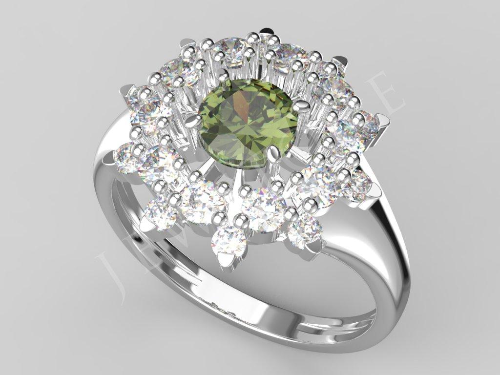 hvezda prsten 5,0 2,2 1,7 vlt zir.417