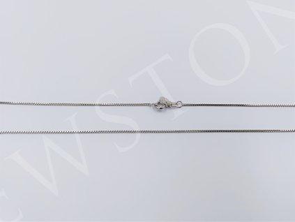 Stříbrný řetízek - venezia 2,2 g, délka 50cm, Ag 925/1000+Rh
