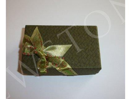 Dárková krabička na šperky s mašlí