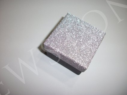 Stříbrná dárková krabička