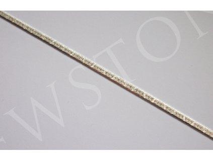 Stříbrný řetízek - zmijka 42 cm