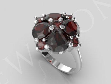 3159 prsten srdce 6x6 2,5