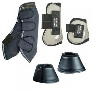 Chrániče, bandáže a zvony