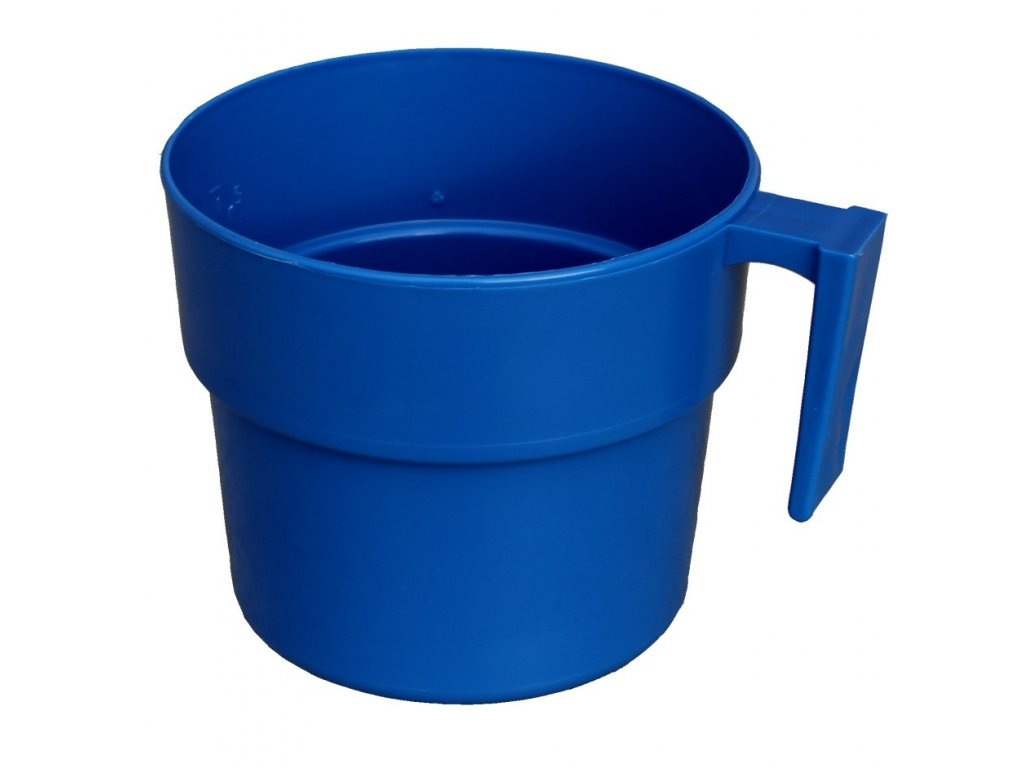 Odměrný hrnek 2 l modrý