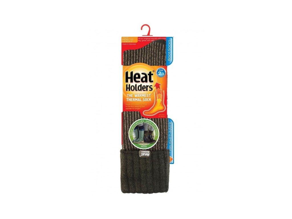 Thermopodkolenky Heat Holders Boot pánské 39 45 zelené