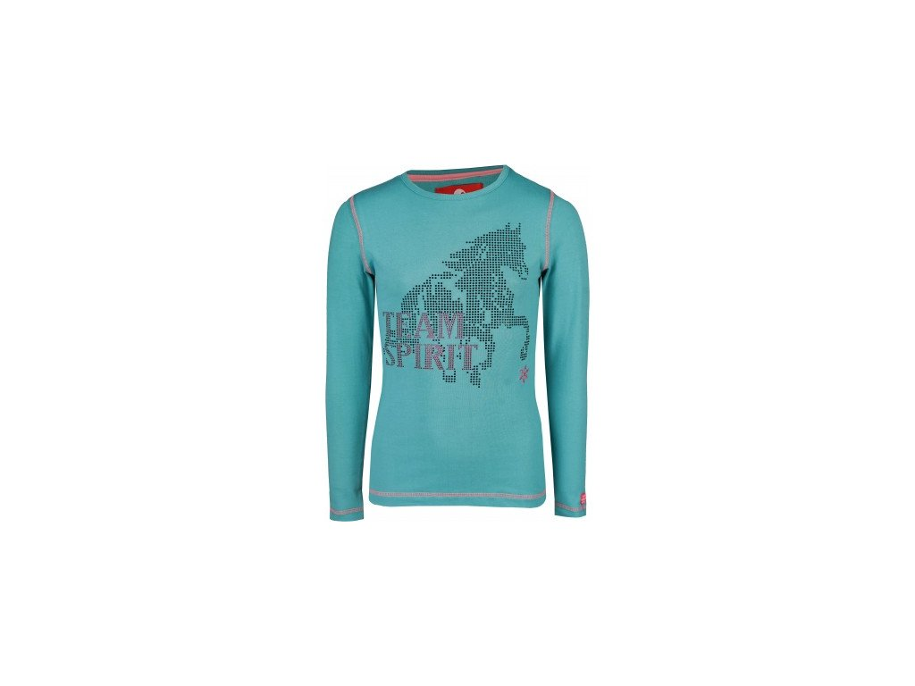LONG SLEEVED T SHIRT FLASH zelené