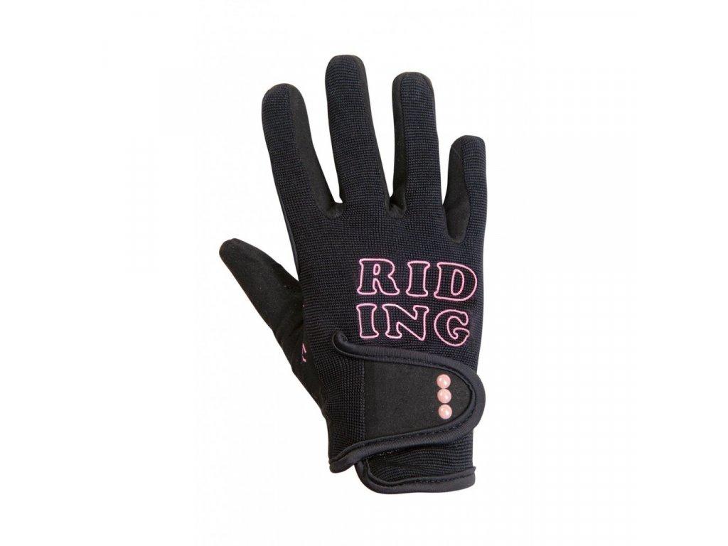 Jezdecké rukavice Gelato
