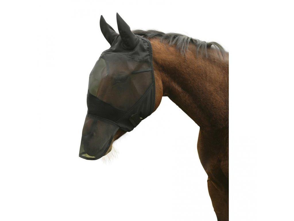 Maska proti hmyzu pro koně z PVC