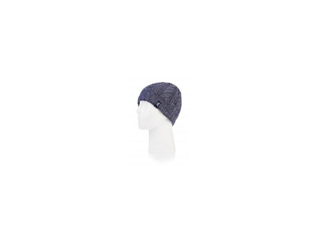 čepice heat holders pletená šedá