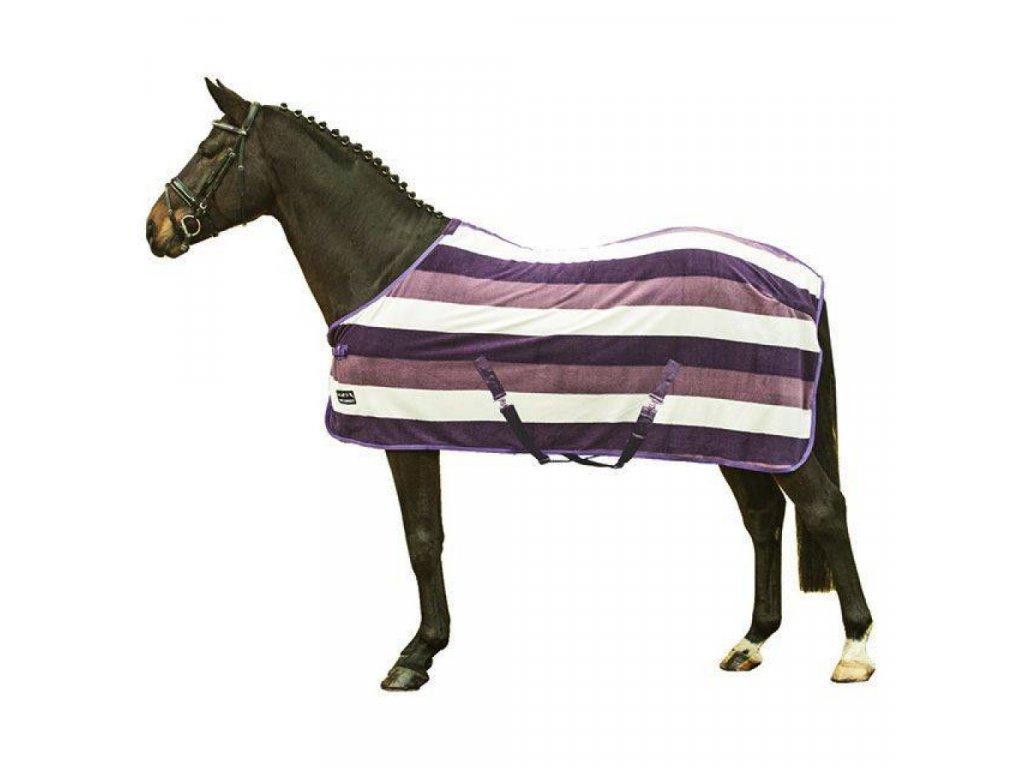 HKM odpocovací deka - barevné pruhy