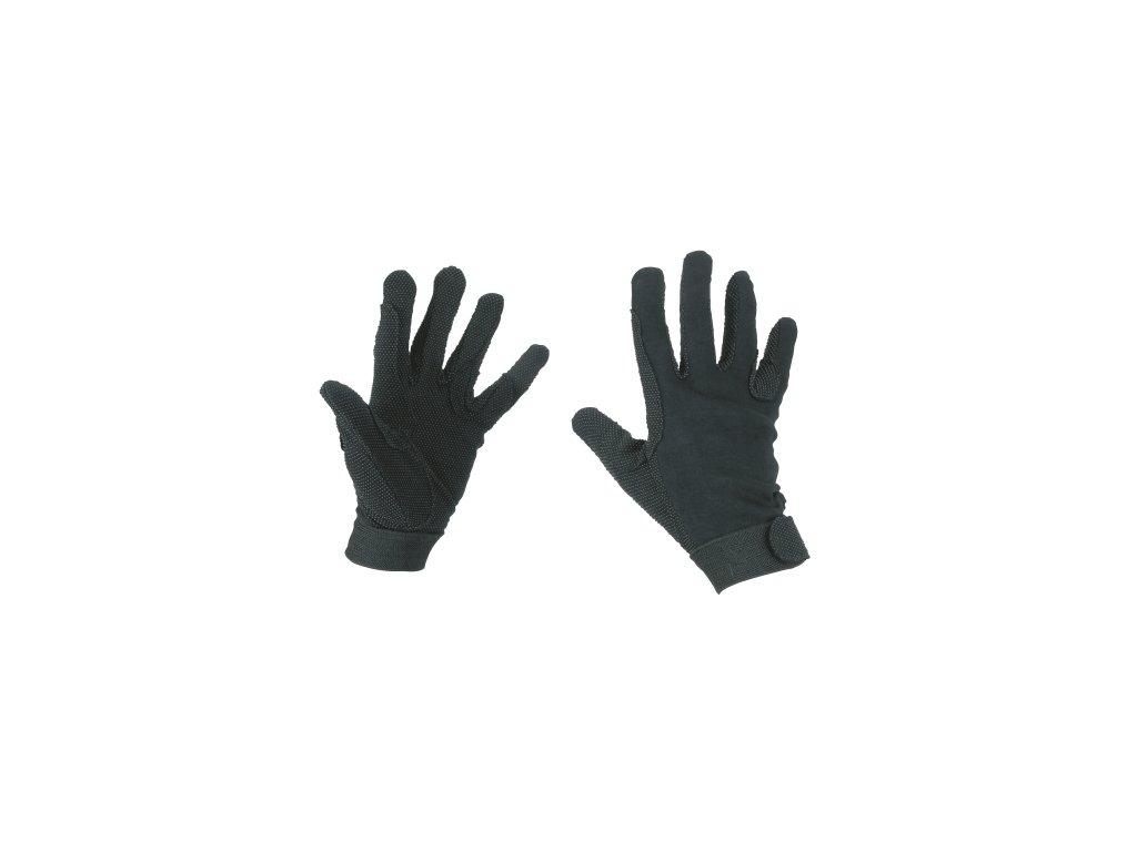 Jezdecké rukavice bavlněné, různé velikosti a barvy
