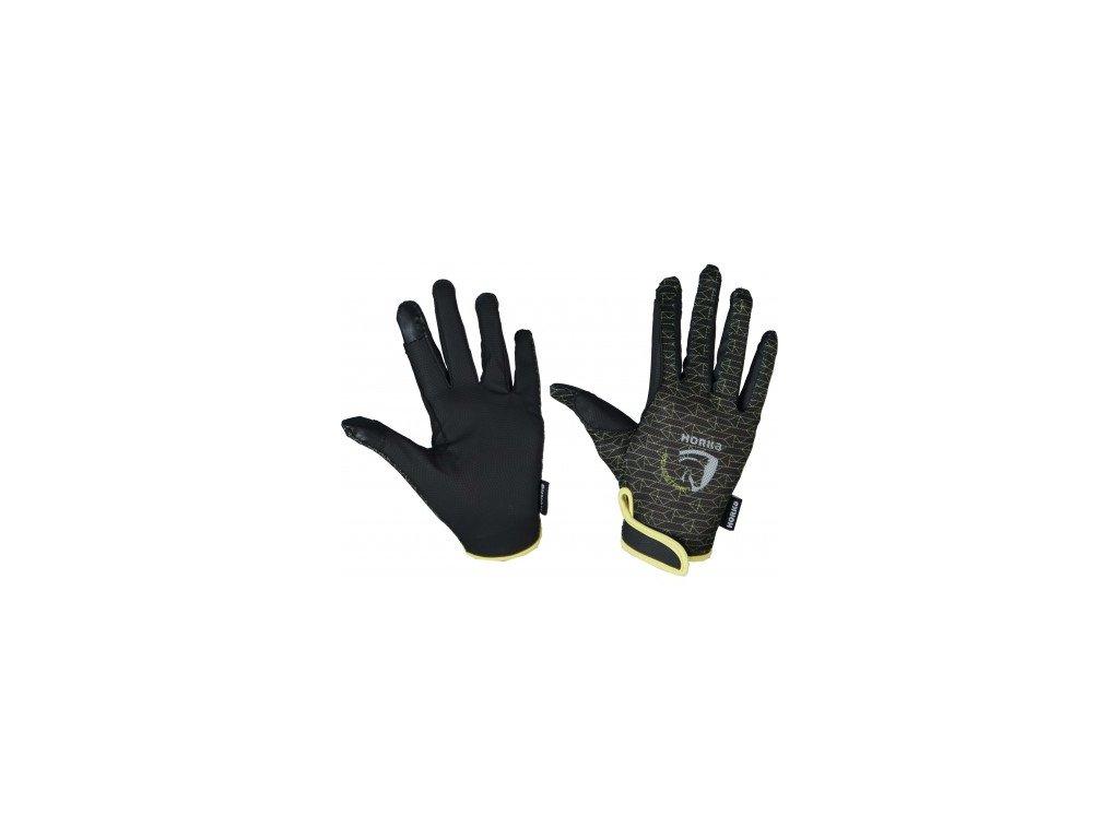 horka rukavice zelené