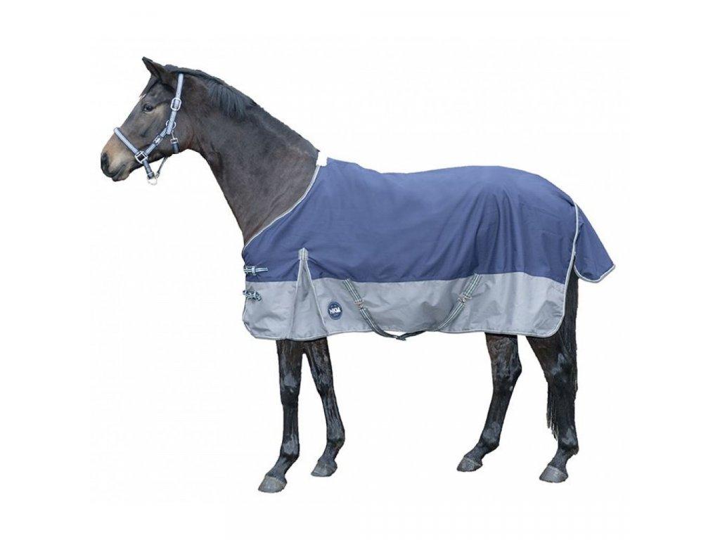 hkm nepromokavá deka modrá