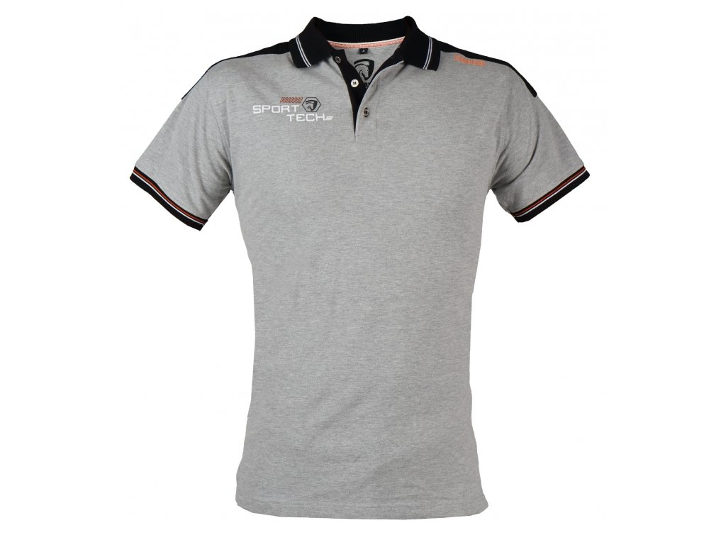 Pánské sportovní tričko Branco s límečkem.