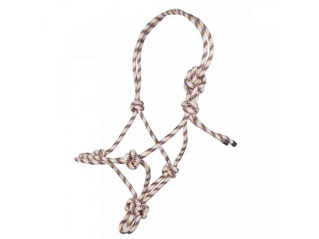 Ohlávka  provazová, lano 8 mm