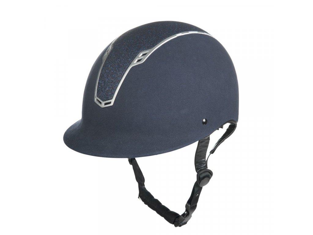 Jezdecká helma Graz HKM modrá