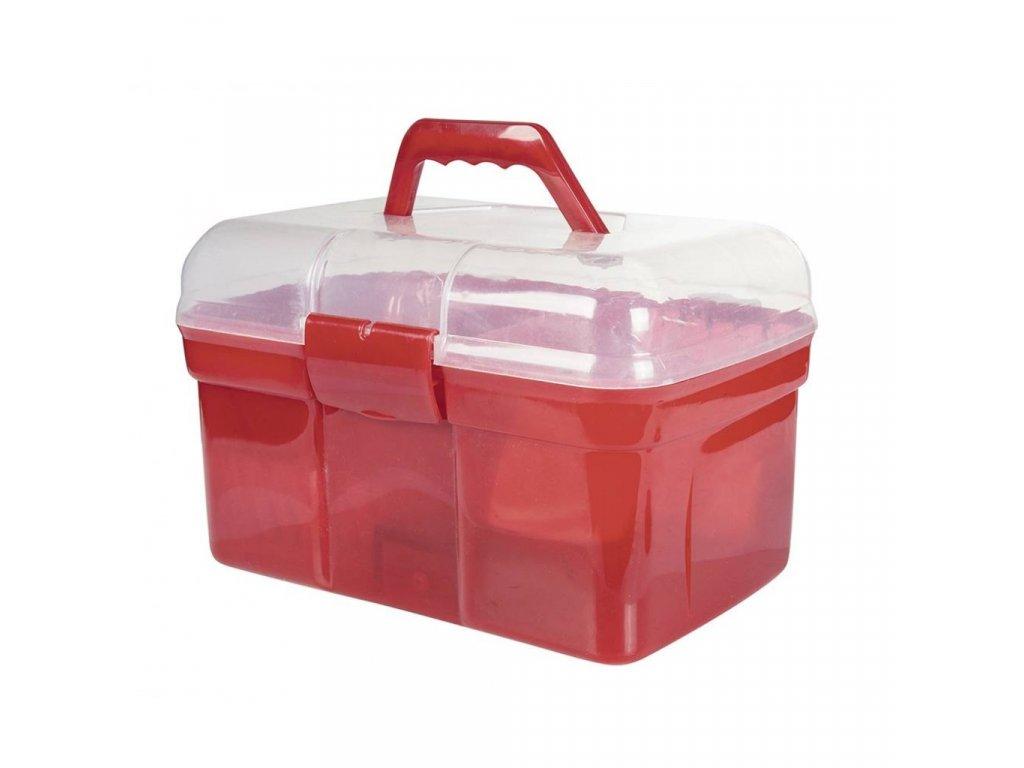 Box na čištění včetně čištění Light set 6 kusů HKM červený