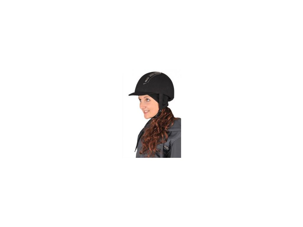 Thermo čepice pod jezdeckou helmu