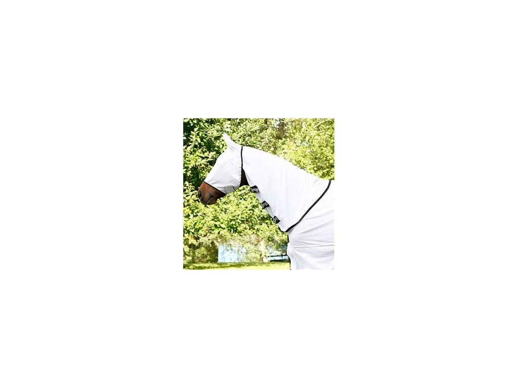 Ochranná maska proti hmyzu SuperFly, bílá