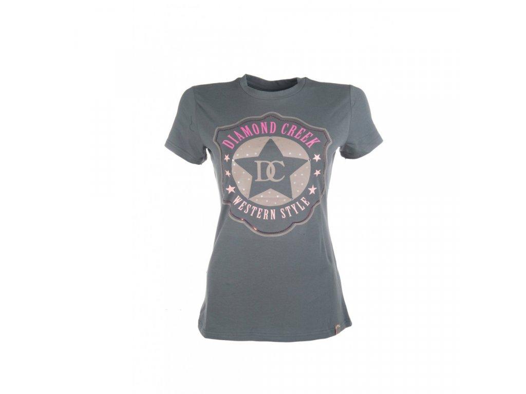 Tričko Brand New šedá