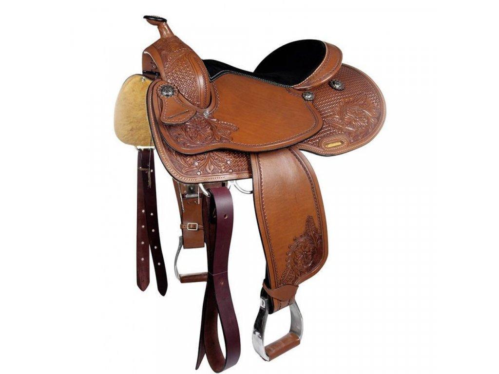 Westernové sedlo Dallas