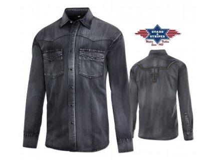 Westernová košile pánská