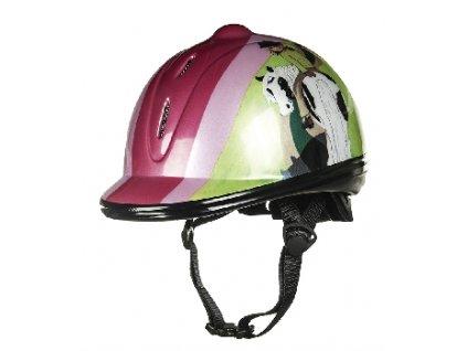 Jezdecká helma Jump S
