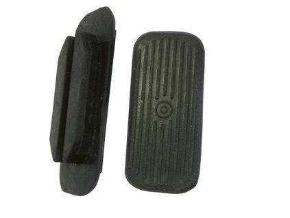 Gumové nášlapky černé