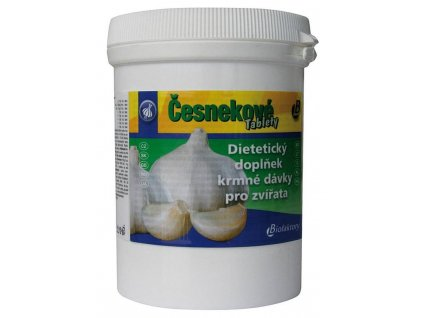 česnekové tablety