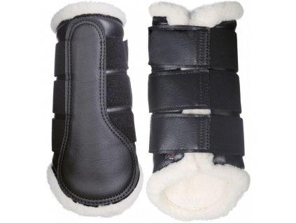 Kamaše Comfort černá bílá