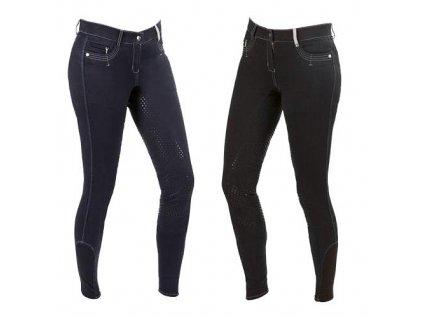Dámské jezdecké kalhoty BasicPlus, černé