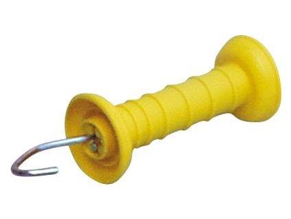 brána rukojeť žlutá