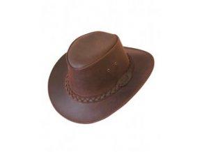 Kožený klobouk Bushman L