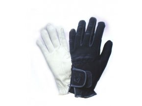 Jezdecké rukavice techno-semiš Tattini