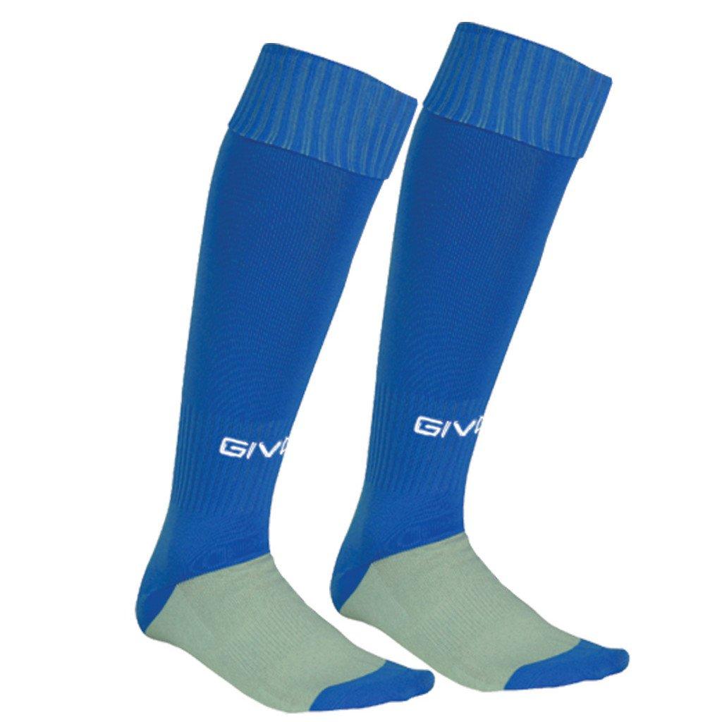 calza calcio blue