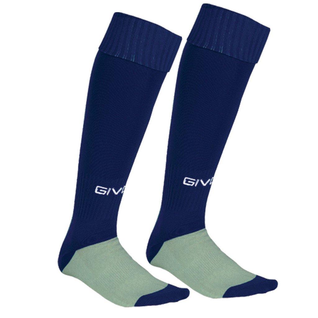 calza calcio navy blue