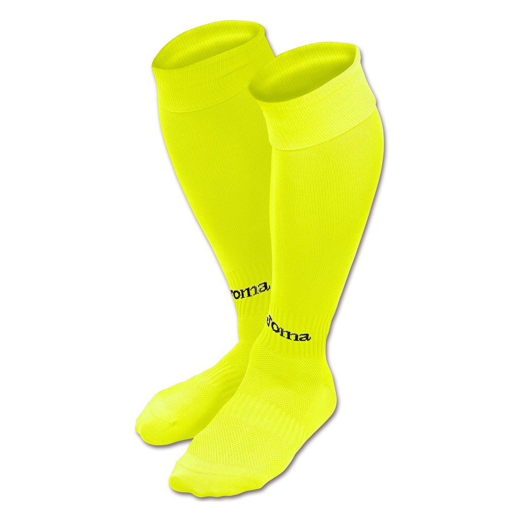 Sportovní štulpny Joma Classic II - fluo žlutá