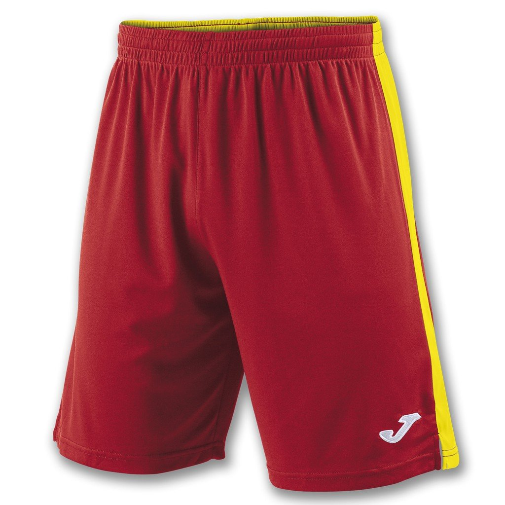 Sportovní trenýrky Joma Tokio II - červená/žlutá