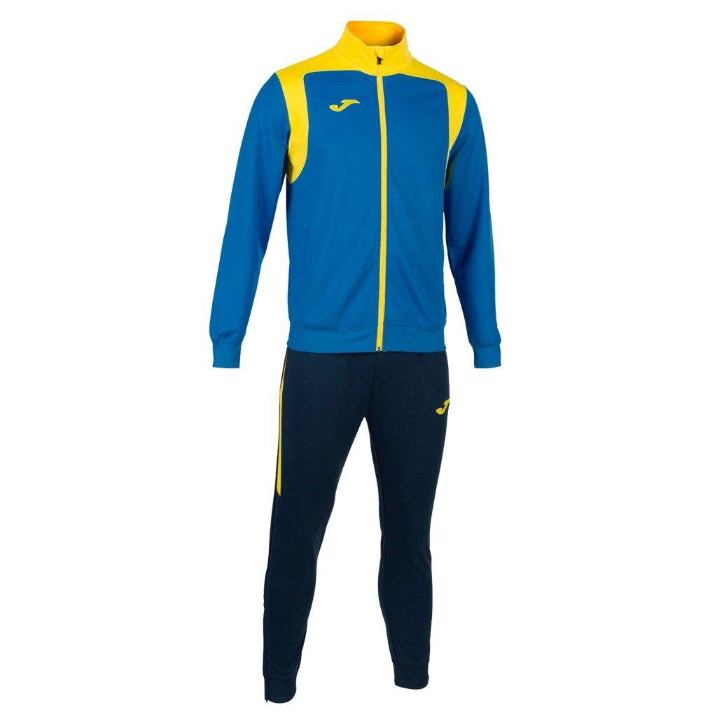 Tepláková souprava Joma Champion V - modrá/žlutá