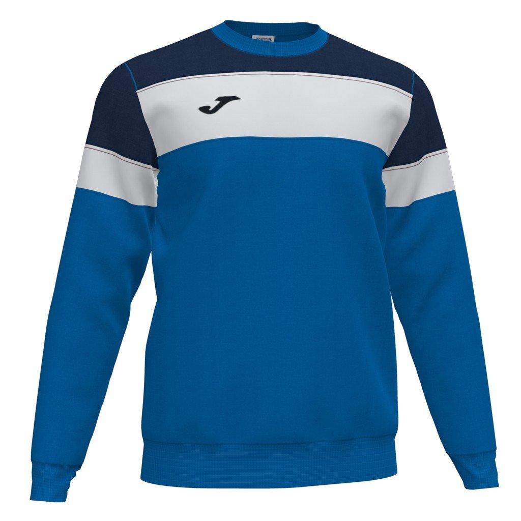 Sportovní mikina Joma Crew IV - modrá/tmavě modrá