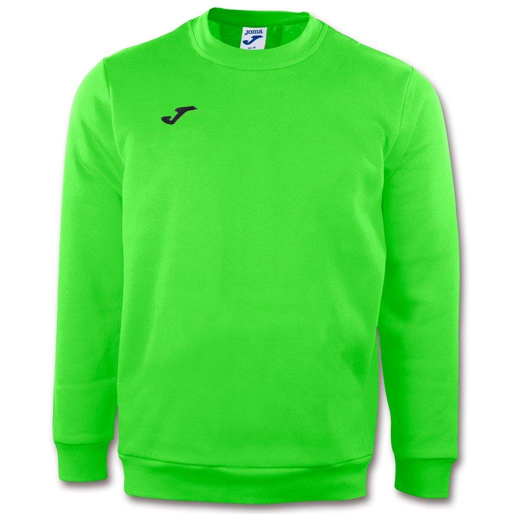 Sportovní mikina Joma Cairo - fluo zelená