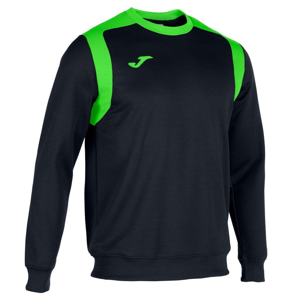 Sportovní mikina Joma Champion V - černá/fluo zelená