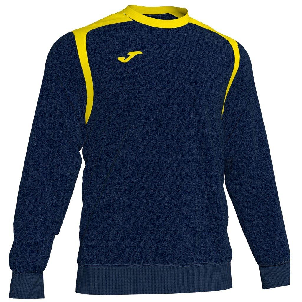 Sportovní mikina Joma Champion V - tmavě modrá/žlutá