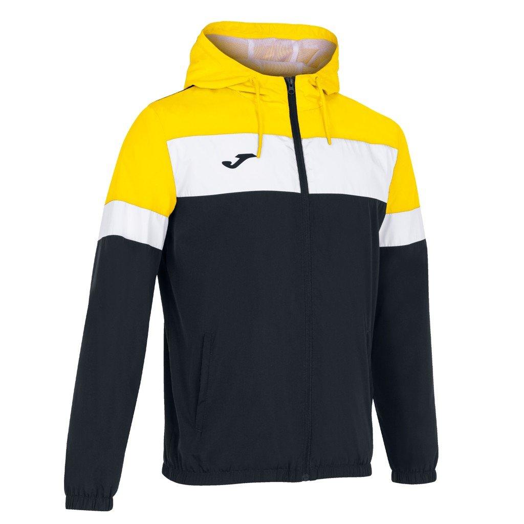 Sportovní bunda Joma Crew IV - černá/žlutá