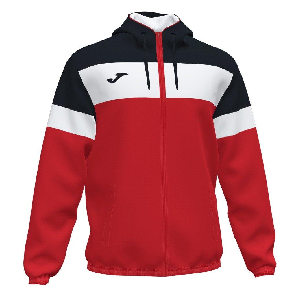 Sportovní bunda Joma Crew IV - červená/černá