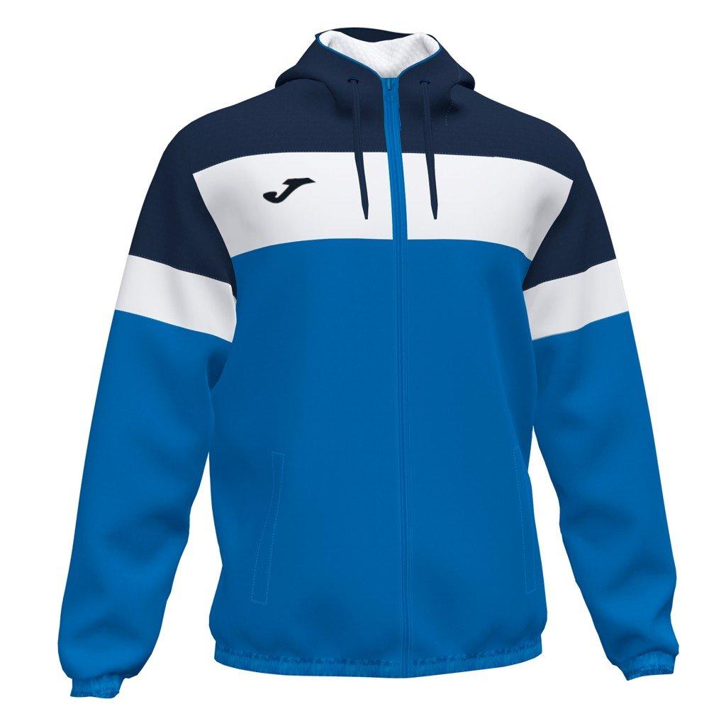 Sportovní bunda Joma Crew IV - modrá/tmavě modrá