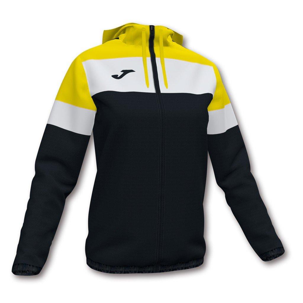 Dámská sportovní bunda Joma Crew IV - černá/žlutá