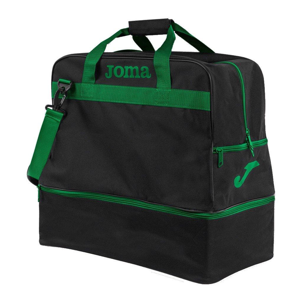Sportovní taška Joma Training III - černá/zelená