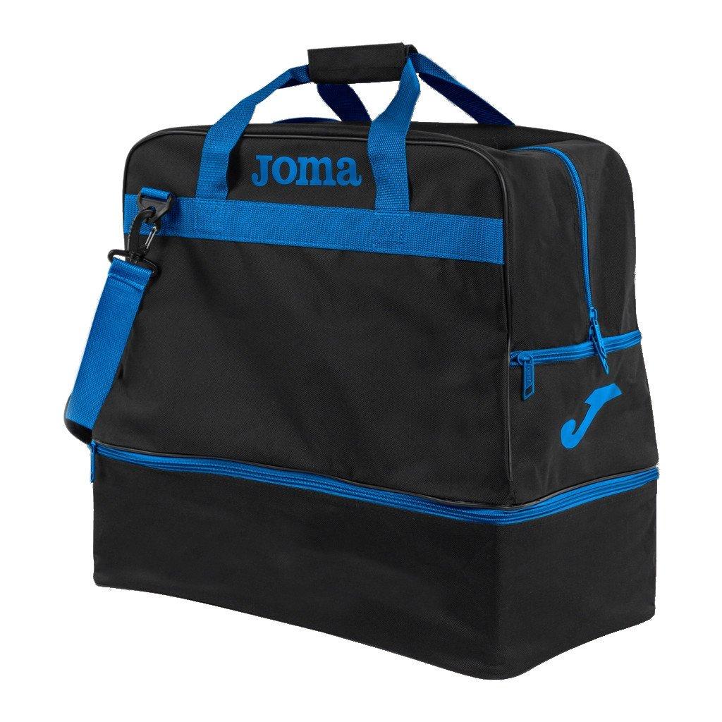 Sportovní taška Joma Training III - černá/modrá